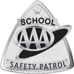 safety patrol badge