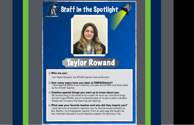 Staff in the Spotlight