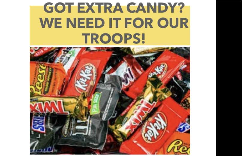 Candy for the Troops