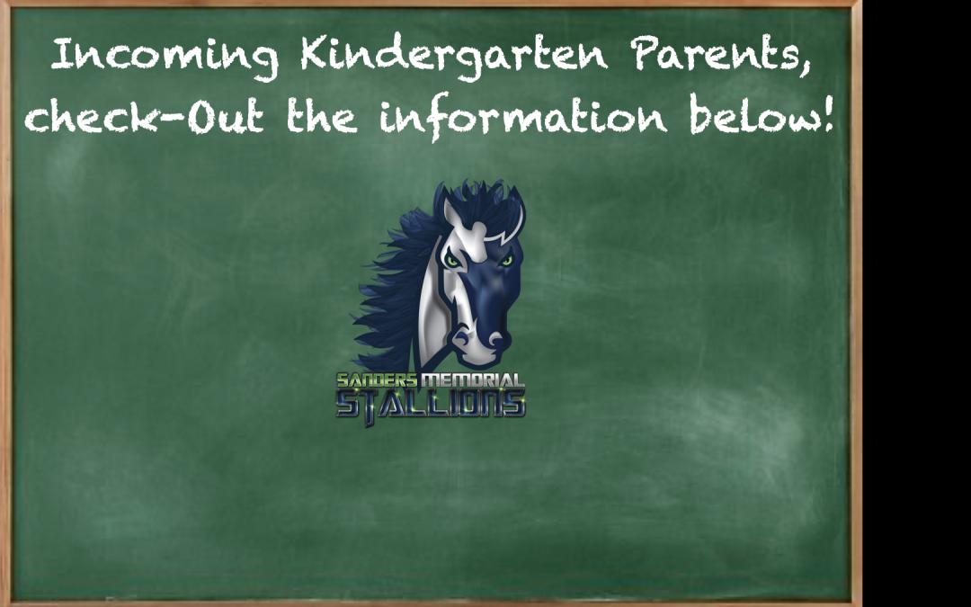 Incoming Kindergartener Info